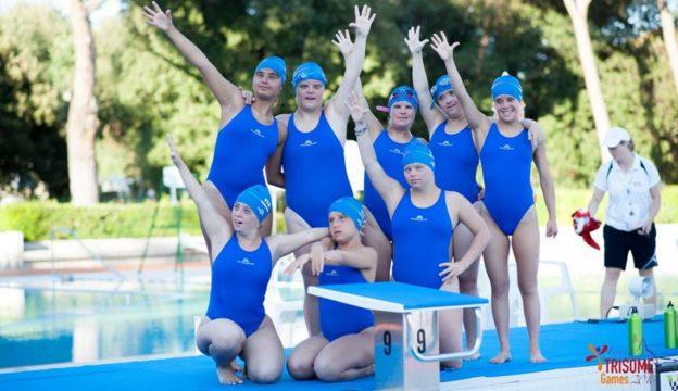 Trisome Games 2016: la squadra di nuoto sincronizzato
