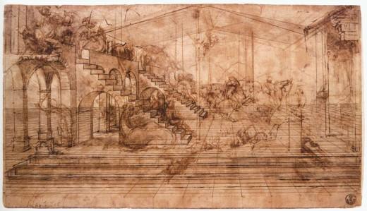 Collana d'arte Menarini - Leonardo da Vinci