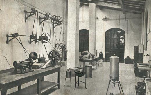 sala macchinario